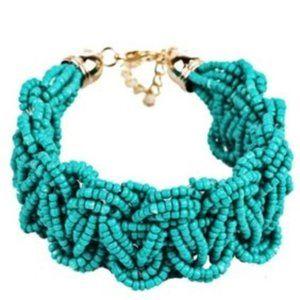 🇺🇸 3/$30 BOHO Turquoise Seed Bead Woven Bracelet